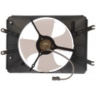 A/C Condenser Radiator Fan Assembly (Dorman 620-241) w/ Shroud, Motor & Blade