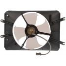 A/C Condenser Radiator Fan Assembly (Dorman 620-241) w/ Shroud, Motor & Blade