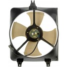 A/C Condenser Radiator Fan Assembly (Dorman 620-255) w/ Shroud, Motor & Blade