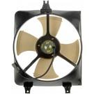 A/C Condenser Radiator Fan Assembly (Dorman 620-255) w/ Shroud, Motor & Blade