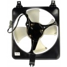 A/C Condenser Radiator Fan Assembly (Dorman 620-256) w/ Shroud, Motor & Blade