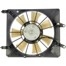 Right A/C Condenser Fan Assembly (Dorman 620-260) w/ Shroud, Motor & Blade