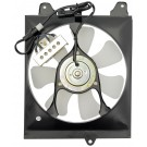 A/C Condenser Radiator Fan Assembly (Dorman 620-301) w/ Shroud, Motor & Blade