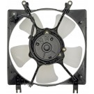 A/C Condenser Radiator Fan Assembly (Dorman 620-303) w/ Shroud, Motor & Blade