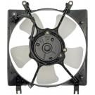 A/C Condenser Radiator Fan Assembly (Dorman 620-303) w/ Shroud, Motor & Blade