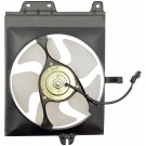 A/C Condenser Radiator Fan Assembly (Dorman 620-306) w/ Shroud, Motor & Blade