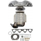 Left Exhaust Manifold Kit w/ Integrated Converter & Hardware Dorman 674-439