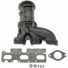 Cast Exhaust Manifold With Integrated Catalytic Converter - Dorman# 674-615