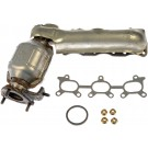 Right Exhaust Manifold Kit w/ Converter & Hardware Dorman 674-617 USA Made