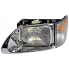 LT H/D Headlight Ass`y Dorman 888-5104,3502928C95 Fits 01-17 International 5900I