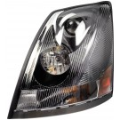 Heavy Duty Left Headlight (Dorman# 888-5506) for 05-14 Volvo VNL Generation 2