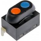 Front Power Door Window Switch (Dorman 901-302) 1 Button, 5 Prong
