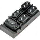 Front Left Power Door Window Switch (Dorman 901-304) 5 Button, 11 Prong