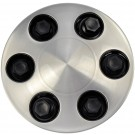 Wheel Center Cap - Brushed Aluminum Look (Dorman# 909-011)