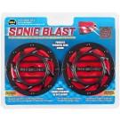 Wolo Sonic Blast Horn Dual Tone, Ultra Loud, 118 Decibels - Model 308-2T