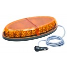 WOLO Beyond Low Profile Snow Plow Tow Truck GEN 3 LED Magnet Mount Light Amber