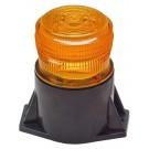 Model 3950-A Lightning Bright LB LOW BOY GEN 3 LED Permanent Mount Amber Lens