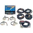Wolo Lightning 4 Outlet Strobe Light Kit Clear, 6 Flash Patterns, 80 Watts