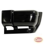 Front Bumper Cap, Left (Flat Black) - Crown# 5DY01TZZAC