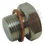 One New Engine Oil Drain Plug - Crown# 68040680AA