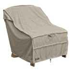 ONE NEW ADIRONDACK CHAIR COVER GRAY - 1SZ - CLASSIC# 55-671-016701-RT