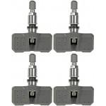 Four Tire Pressure Monitoring System (TPMS) Sensors (Dorman 974-002)
