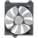 A/C Condenser Radiator Fan Assembly (Dorman 620-523) w/ Shroud, Motor & Blade