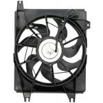 A/C Condenser Radiator Fan Assembly (Dorman 620-721) w/ Shroud, Motor & Blade