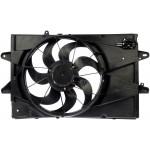 New Radiator Fan Assembly With Resistor - Dorman 621-456