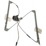 One New Front Left Power Window Regulator with Motor Dorman 741-858
