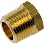 Brass Bushing-1/4 In. FNPT x 3/8 In. MNPT - Dorman# 490-093.1