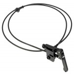 Hood Release Cable & Handle (Dorman 912-001) Fits 94-01 S10 95-01 GMC Jimmy