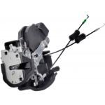 Dr Lock Actuator Integrated w/ Latch Dorman 931-472 Fits 01-07 Highlander Rear L