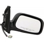 Side View Mirror Black, Code 202 (Dorman# 955-1651)