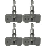 Four Tire Pressure Monitoring System (TPMS) Sensors Dorman 974-061