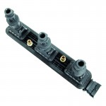 New Ign.Rail W/3 Coils CUF278 Rear Bank Fits Cad. 99-01 Catera 3.0 03-04 CTS 3.2