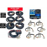 Wolo Lightning Plus XL 6 Outlet Light Strobe Kit 4 Clear & 2 Amber