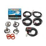 Wolo Nexgen 4 Outlet LED Light Kit Clear, 15 Flash Patterns, 40 Watts